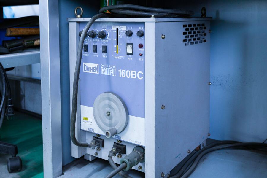 半自動溶接機 DYNA AUTO MINI 160BC