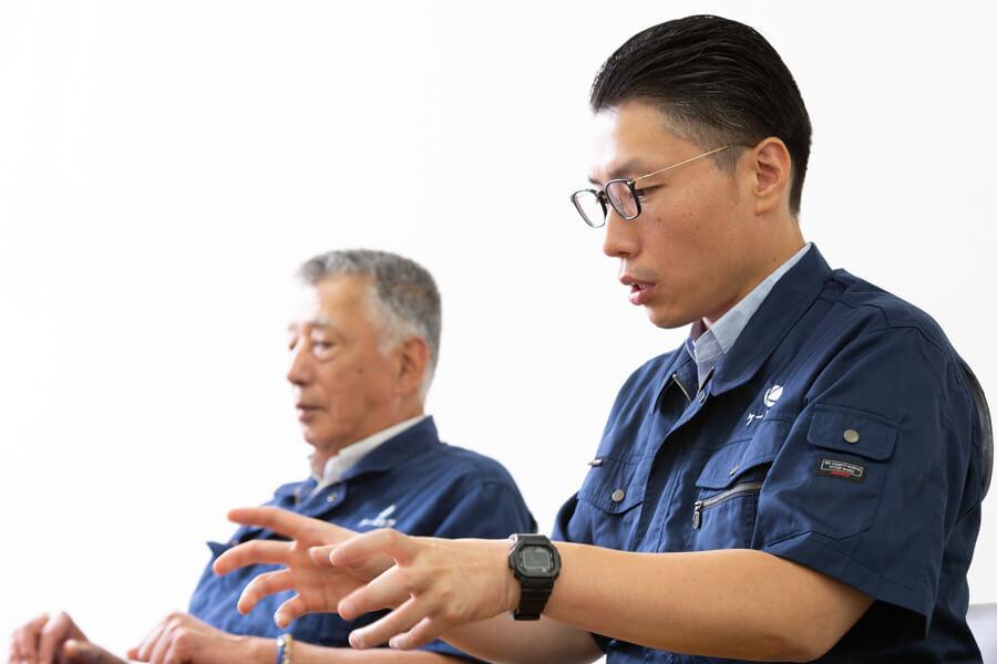 社長×会長トップ対談