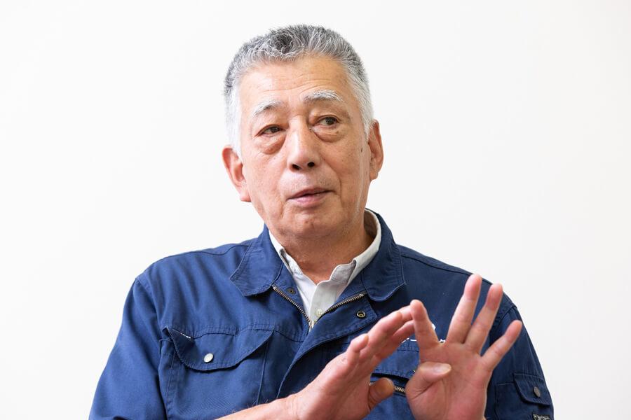 トップ対談 会長の竹中次雄