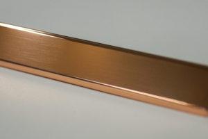 加工事例:銅・板厚0.5mm・バフ仕上げの写真1