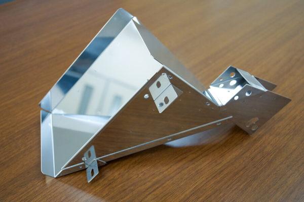 加工事例:SUS430 板厚1.0mmホッパーの写真2